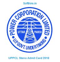 UPPCL Steno Admit Card