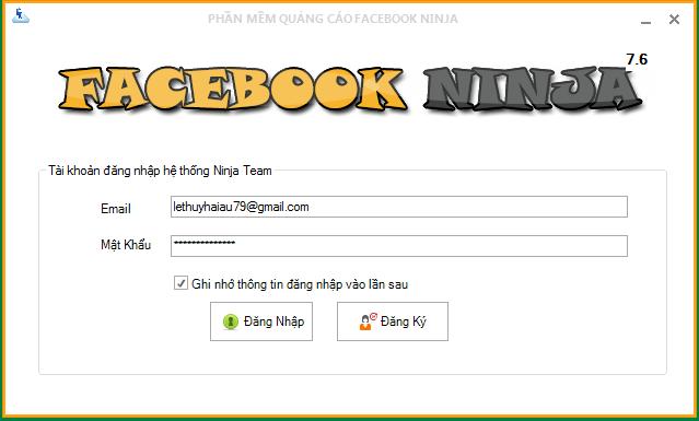 phan mem ninja Facebook ninja – Error: %1 is not a valid Win32 application