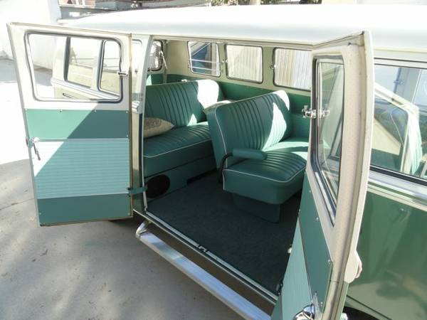 1966 Volkswagen Bus 13 Window Deluxe Vw Bus