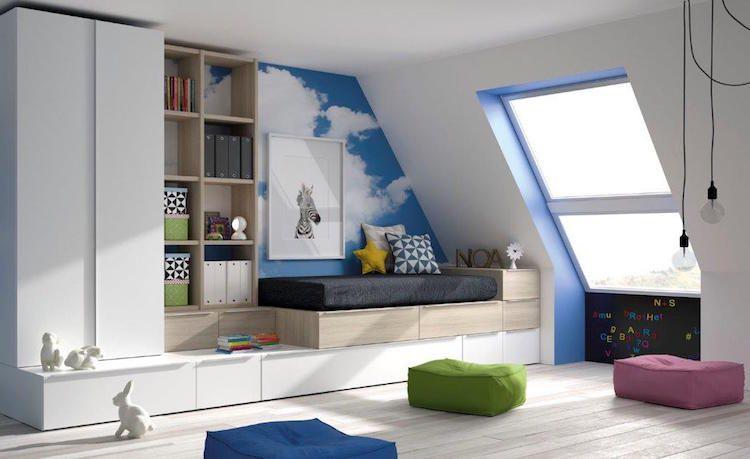 reforma e interiorismo de un dormitorio infantil