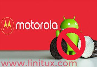 El motorola Moto G4 se queda sin android oreo