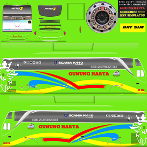 Download 100 Livery Bus Simulator Indonesia Bussid Keren
