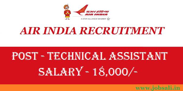 Air India Career, Latest Govt Jobs 2017, Air India Recruitment 2017