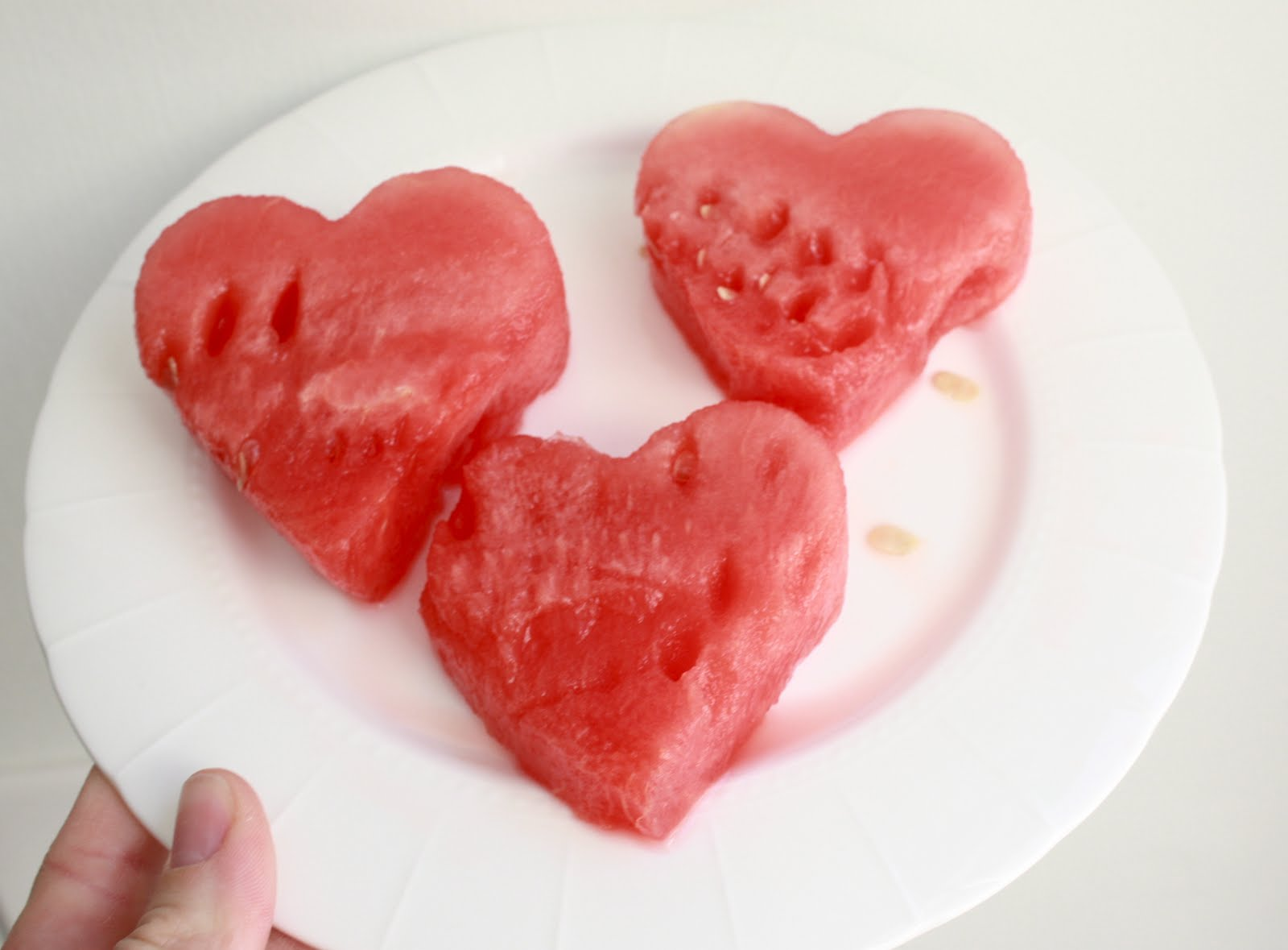 Heart Shaped Whole Wheat Pancakes with Strawberry Sauce