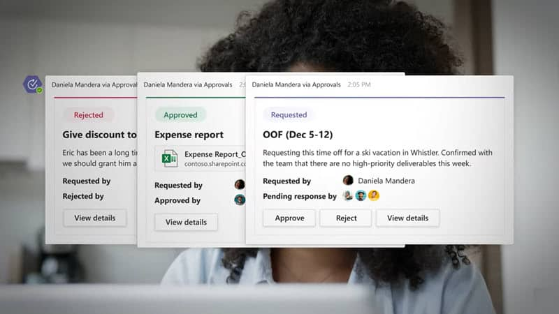Microsoft brings approval request app to Teams