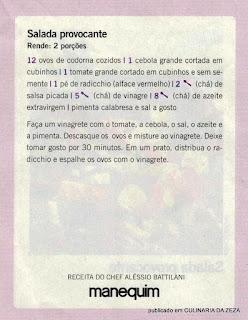 RECEITA DE SALADA COM ALFACE VERMELHO