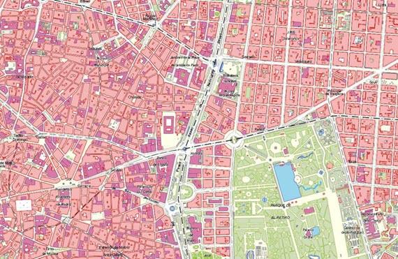 Mapa Puerta Del Sol.Cortes De Trafico En Calle Alcala Y La Puerta Del Sol Por