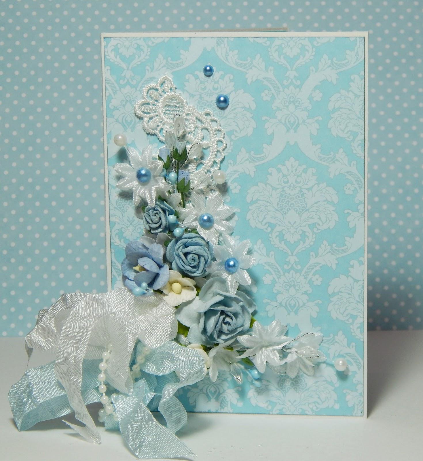 Скрапбукинг набор свадебная открытка