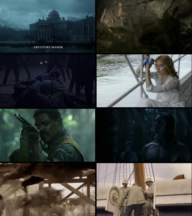 The Legend of Tarzan 2016 English 720p BRRip