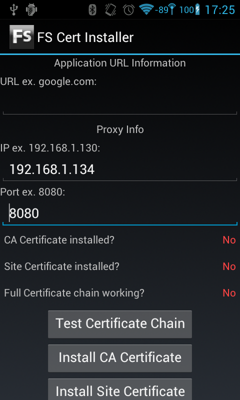 Open Security Research: Proxying Android 4 0 ICS and FS Cert
