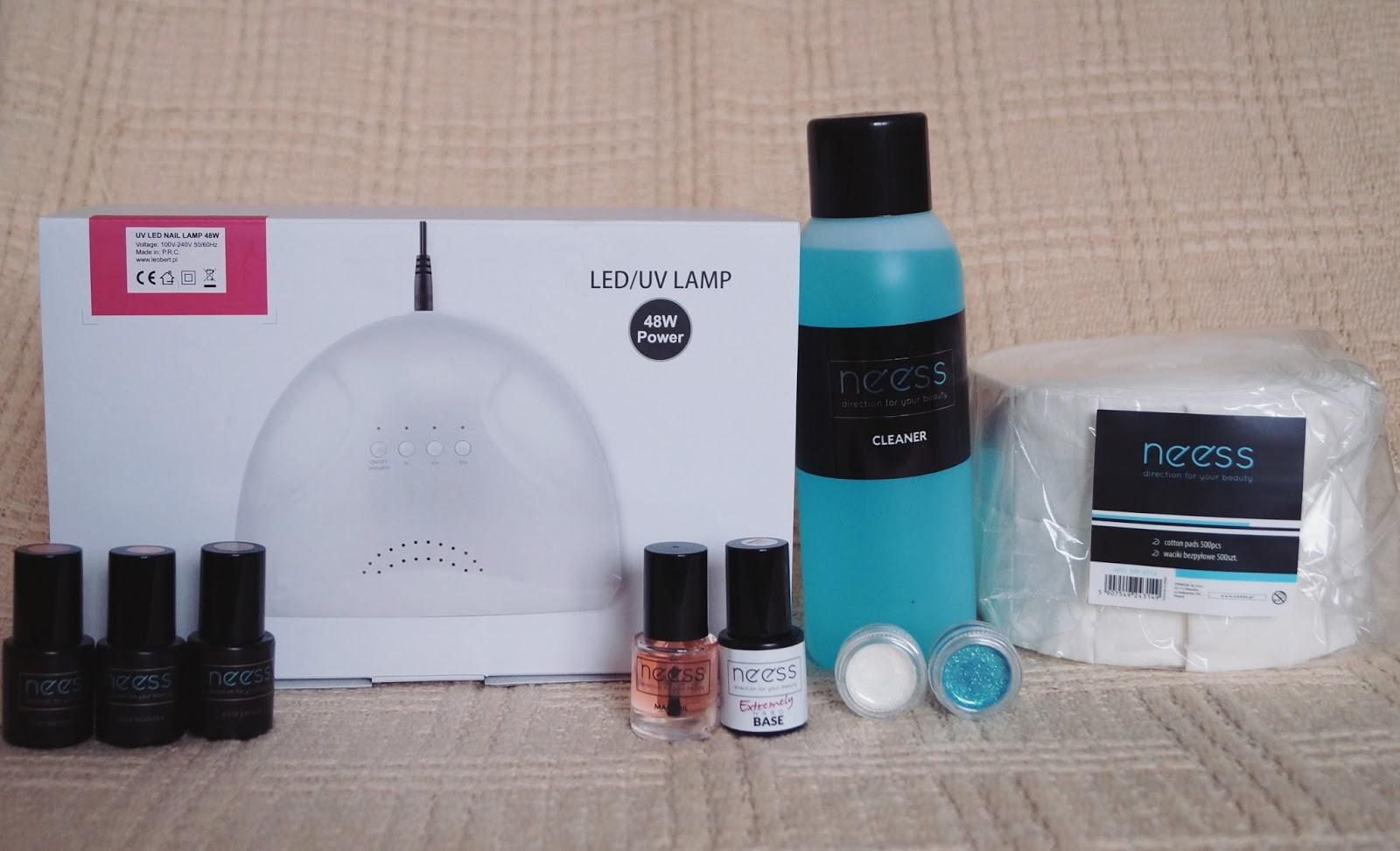Nowości paznokciowe - czyli nowa lampa i spore zakupy produktów Neess