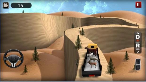 لعبة شاحنات النقل الثقيل