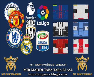 PES 2017 New Kits-Pack 2016-17. Kits   Juventus – Manchester United –  Arsenal – Real Madrid – Chelsea – Barcelona – Leicester City – Liverpool –  Manchester ... ed5ac4456