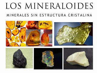 Los mineraloides - minerales sin estructura cristalina - foro de minerales