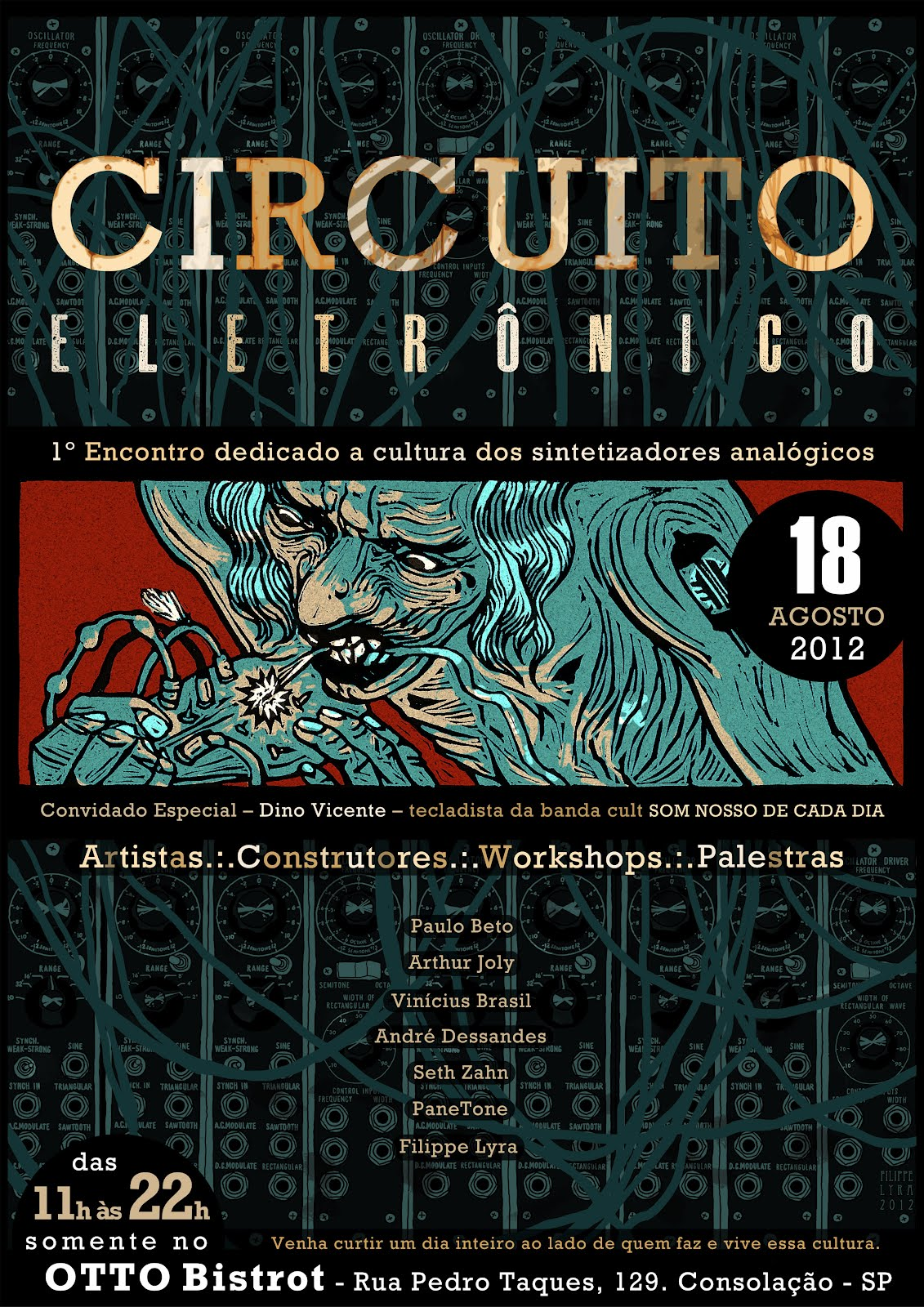 Circuito Eletronico : Matrixsynth circuito eletrÔnico brazil s first modular synth meet