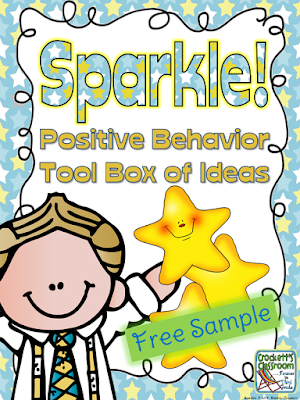 SPARKLE Positive Behavior Incentive Tool Box