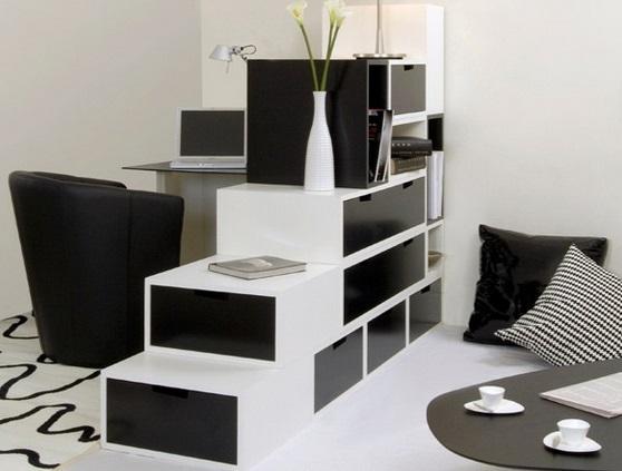 Mueble para guardado de cosas y divisor