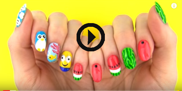 How To Paint Your Nails At Home Diy Nail Art Tools With 5 Easy Nail