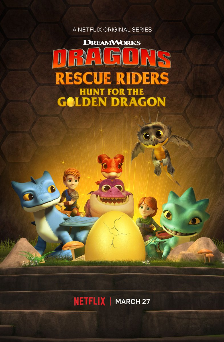 Xem Phim Biệt Đội Giải Cứu Rồng: Săn Rồng Vàng
