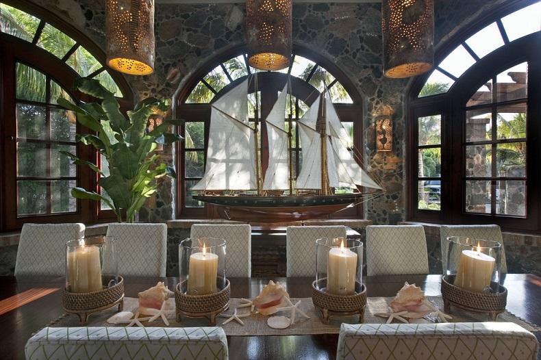 Beach Themed Living Room Decor Wall Ideas Nautical Home Interior Design | Handcrafted ...