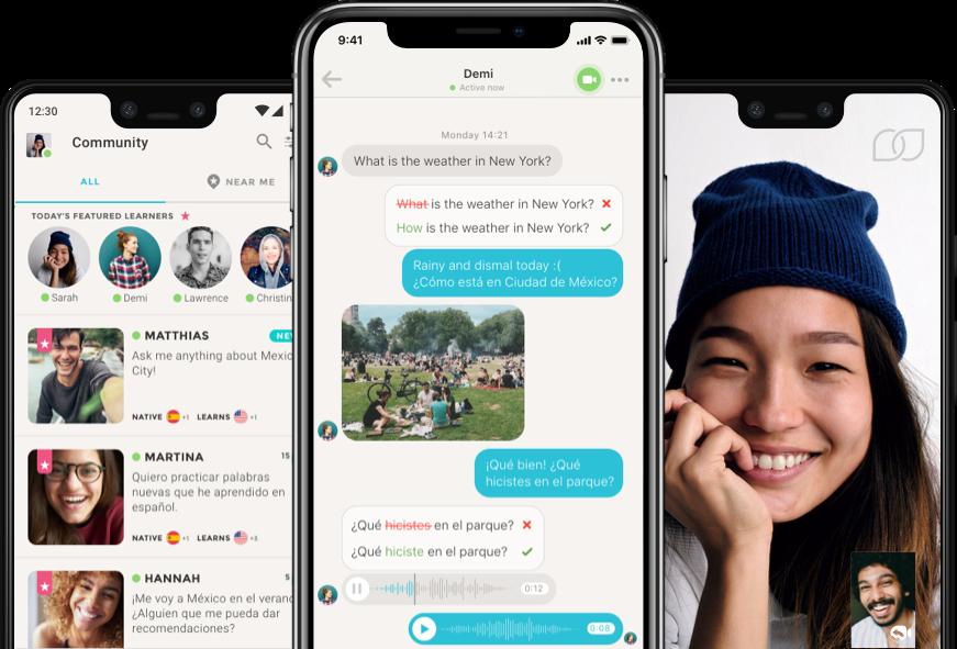 Aplikasi belajar bahasa Inggris chat aplikasi belajar bahasa Inggris dengan native speaker