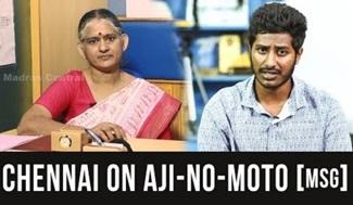 Chennai on AJI-NO-MOTO(R) [MSG] | Loud Speaker | Madras Central