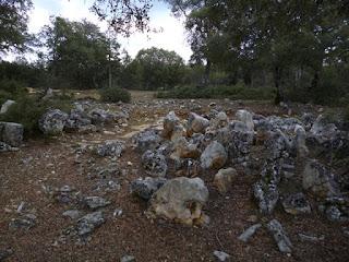 Cinturón de piedras hincadas (chevaux de frise)