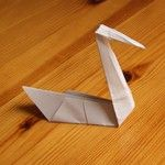 http://www.marcels-kid-crafts.com/origami-swan.html