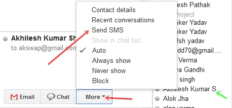 How to send Free Sms to any Mobile in any country With Gmail