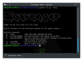 Scavenger - Crawler Searching For Credential Leaks On Different Paste Sites