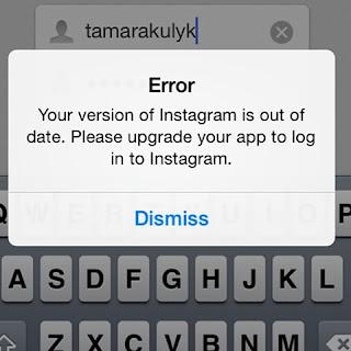 Tips Mengatasi Error Dismis Pada Instagram