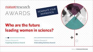 جوائز أبحاث الطبيعة 2018