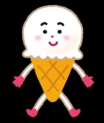 アイスクリームのキャラクター