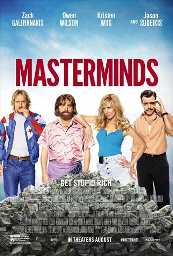 Masterminds 2016 English HDTS x264 850MB Download