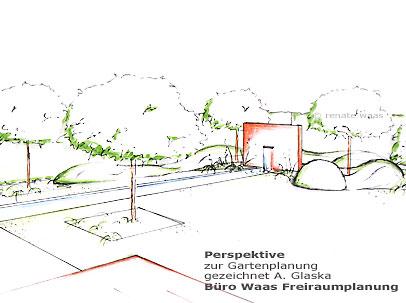Wasserbecken - Gartenplanung Renate Waas