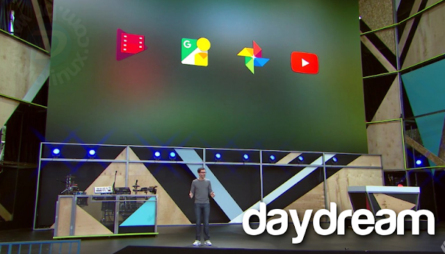 Daydream Google no Android N