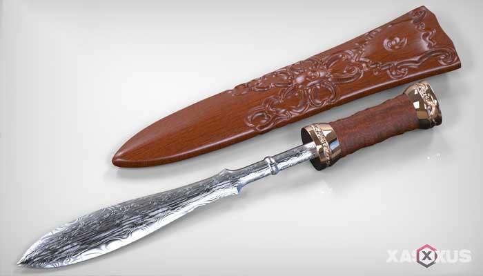Senjata tradisional Indonesia - Senjata tradisional Kalimantan Barat (Dohong)
