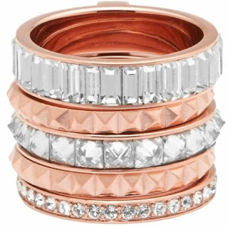 Chrysler Puzzle Ring Rose Gold
