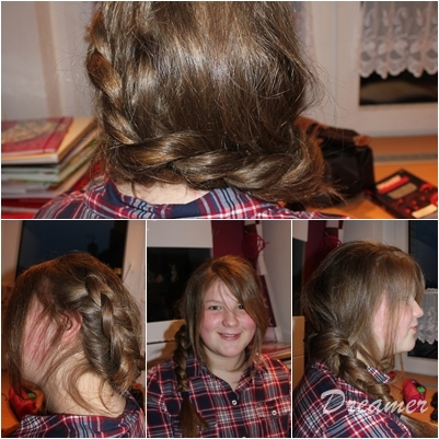 Flechtfrisur Katniss Everdeen Frisur Dutch Braid