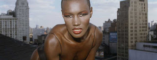 Grace Jones skyscrapers