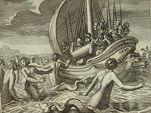 Sirénico es el adjetivo que corresponde al sustantivo sirena