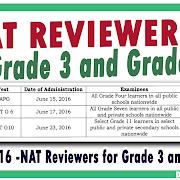 NAT Reviewers, Answer Sheets, School Headers and Examiners Handbook