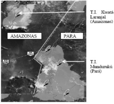 Mundurukus - PARÁ  e AMAZONAS
