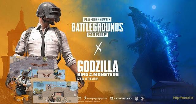 Lokasi Jejak Godzilla Pubg Mobile