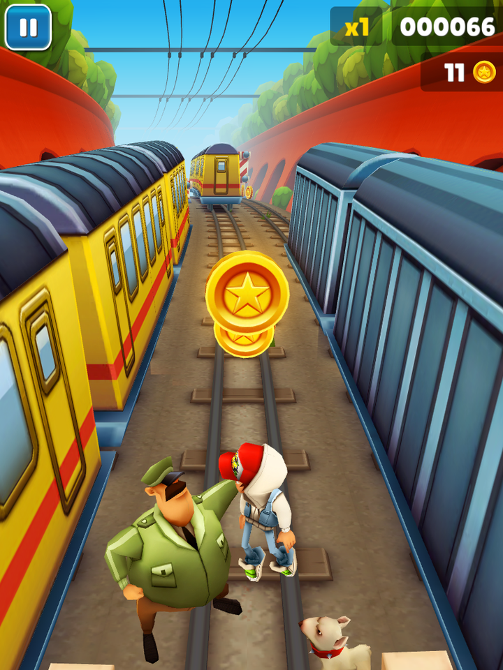 Play Online Subway Surfers