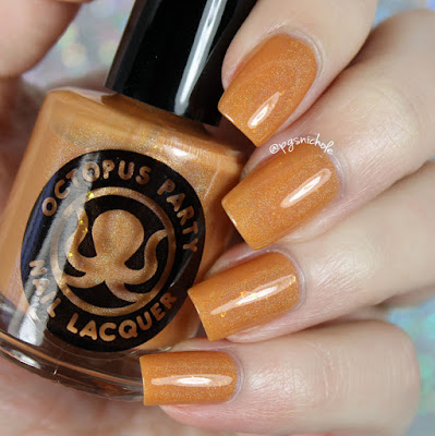 Octopus Party Nail Lacquer You Got the Zest of Me | Sprummer 2016
