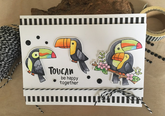Toucan by happy together by Sue T. features Toucan Party by Newton's Nook Designs; #newtonsnook