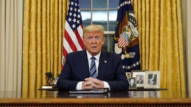 Tangkis Imbas Corona, Trump 'Suntik' Warga AS Rp 16 Juta/Orang