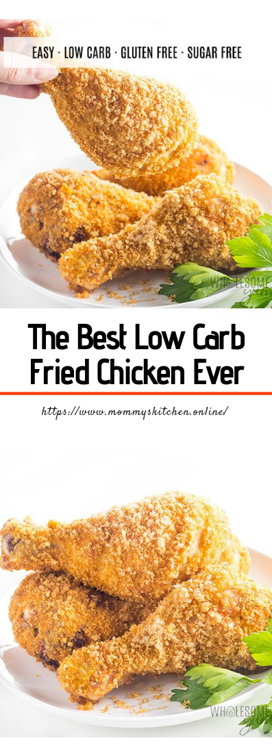 The Best Low Carb Fried Chicken Ever #perfectcook #friedchicken #crispy