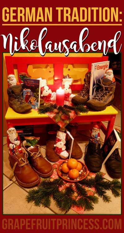 Nikolausabend Saint Nicholas Eve